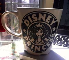 This coffee mug is perfect for the Disney Princess lover in your life!  Please Note: These mugs are NOT dishwasher safe. Please wash by hand!