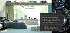 Simples combinações são o suficiente para garantir uma nova perspectiva ao dormitório.