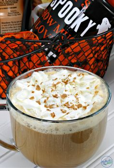 A delectable Hazelnut Mocha Delight coffee perfect for Fall.