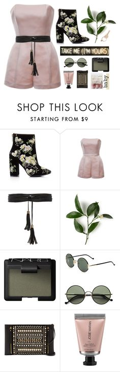 """""""take me (i'm yours) [+tag]"""" by worthwhile ❤ liked on Polyvore featuring Miss Selfridge, Esme Vie, Lovers + Friends, KEEP ME, NARS Cosmetics, Ralph Lauren, Vince Camuto, Josie Maran, Maison Margiela and country"""
