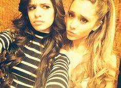 Ariana Grande and Camila