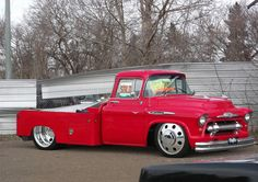 1957 Chevy Dually Tow Vehicle