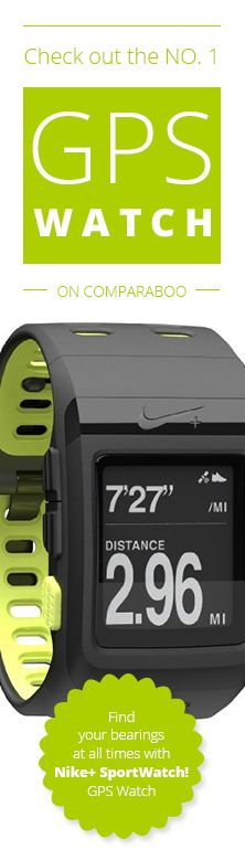 Hiking the wilderness? Trekking a big city? Then you can rest assured you'll always know the way with the Number 1 GPS Watch! www.comparaboo.com