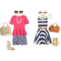 """""""Tuesday Trend: Stripes"""" by savvystylist on Polyvore"""