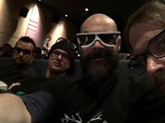 Yessss finally!!! It's time #starwars with @Zak_Bagans @BillyTolley @jaywasley & I