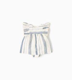 ZARA - KIDS - RUSTIC STRIPED DRESS
