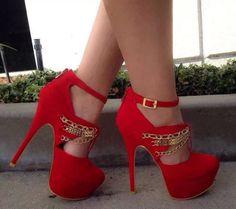 K lindo estos rojos
