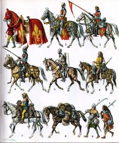 complete - volumes 1 & 2 fully combined by matmohair 1 in Types > Research > History, Encyclopedia и Renaissance Medieval Horse, Medieval Weapons, Medieval Knight, Medieval Fantasy, Medieval Dress, Fantasy Faction, Crusader Knight, High Middle Ages, Knight In Shining Armor