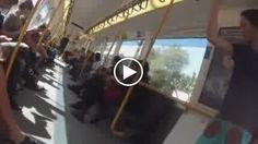 Australia, party a sorpresa. Il treno si trasforma in pista da ballo