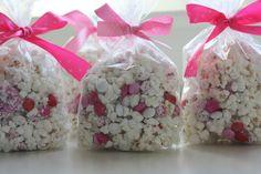 Valentine Confetti Popcorn Tutorial & Printable - great classroom treat!
