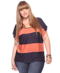 plus size forever 21...i've NEVER seen plus size stuff in Forever 21 but okay! :)