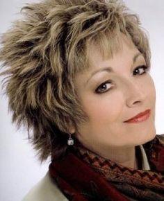 Haircut Shag Hair For Women Over 50   2013 Short Shag Hairstyles For Women Over 50   Celebrity Hair Over 50 ...