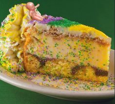 king cake cheesecake recipe | New Cake Ideas