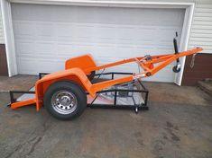 ramp free drop bed trailer