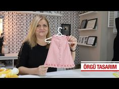 Çok kolay kız bebeklere ister jile ister yelek modeli. - YouTube Crochet For Kids, Crochet Baby, Baby Knitting Patterns, Hand Knitting, Woolen Sweater Design, Knitted Baby Clothes, Baby Dress, Sewing, How To Make