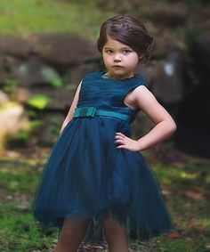 Look what I found on #zulily! Emerald Carroline Dress - Infant, Toddler & Girls by Trish Scully Child #zulilyfinds