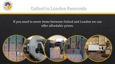 Oxford to London Removals, London to Oxford Moves,