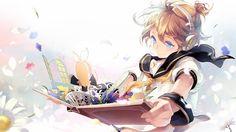 Kagamine Len opens a pop up book with Rin. Vocaloid, Kaito, Manga Art, Manga Anime, Anime Art, Anime Boys, Sketch Faces, Musik Live, Aoki Lapis