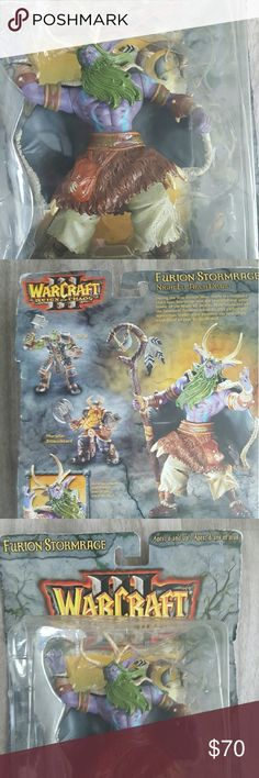 Keep Your Inner Kid Alive!!! NEW IN BOX WOW FURION STORMRAGE ACTION FIGURE Blizzard Entertainment  Accessories