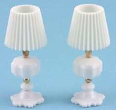 Miniatures How To TABLE LAMP Made with a Toothpaste Cap
