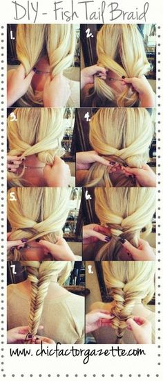 DIY- Fish Tail Braid | Online Fashion Magazine India | Best DIY Blog India | Makeup Tutorial Site | Chic Factor Gazette