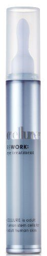 Cellure Eye Treatment by Cellure Stem Cell Skin Care. $90.00. Intensive Aging Defense. Eye Treatment. with collagen & pro-vitamin B5. Paraben Free. For Men and Women. Ingenious treatment for eyes, agings epicenter.    Delivers the stem cells & proteins to help reverse the visible signs of damage.  Skin's own youth-creating collagen is brought back to skin, along with Pro-Vitamin B5 to help stimulate skin soothing moisturization.  CELLURE rewires the signs of aging ...