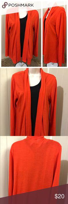 Fig& blu orange cardigan I'm great shape Sweaters