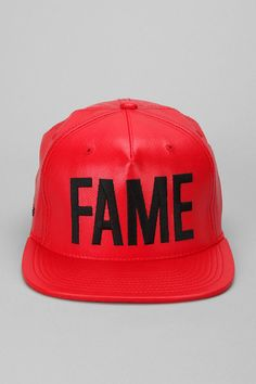 Hall Of Fame Ewing Faux Leather Snapback Hat Online Only     GOTSTA HAVE 18316511d467