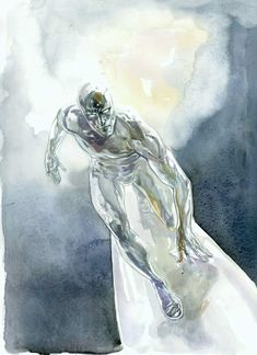 The Silver Surfer by Alex Maleev