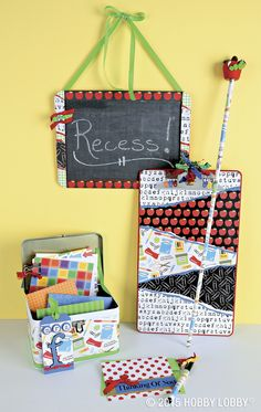 Make your teacher's day with a homemade gift!
