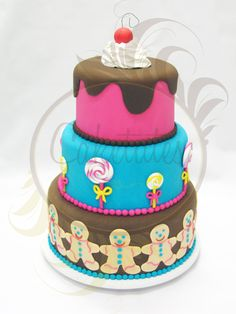 Hansel and Gretel cake by Caketutes Cake Designer: Bolo João & Maria