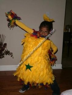 Homemade Dr. Seuss Star Bellied Sneetches Costume: My child was having Dr. Suess day at her elementary school and they had to dress up like a character out of a Dr. Suess book.  Of course, my daughter wanted