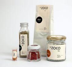 El Zoco packaging by Estudio Amaya I Pulenta