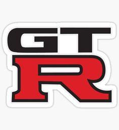 Pegatina Nissan GTR Logo
