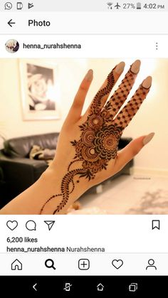 121 Simple Mehndi Designs for Hands Pretty Henna Designs, Modern Henna Designs, Floral Henna Designs, Finger Henna Designs, Arabic Henna Designs, Unique Mehndi Designs, Mehndi Designs For Fingers, Beautiful Mehndi Design, Mehndi Designs For Girls