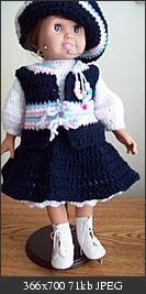 Free Crochet I'M IN THE NAVY Pattern: http://www.crochetville.org/forum/showpost.php?p=2213675&postcount;=1