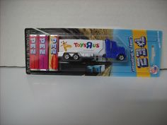 """Toys """"R"""" Us 2012 Toy Truck Rare New Collectable Pez Forgotten In Storage WOW"""