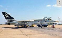 A Navy RA-5C Vigilante of RVAH-7 Squadron getting a maintenance checkup.