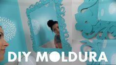 MOLDURA ESPELHO PROVENÇAL DE PAPEL | DIY