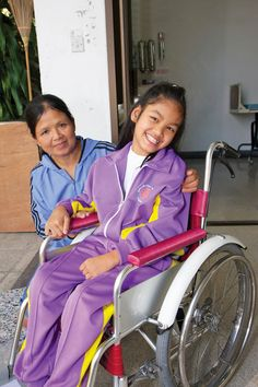 Thank you for making it possible for 10-year-old Dear who was born with cerebral palsy to receive her first wheelchair and experience the love of Christ at a Wheels for the World outreach in Thailand!