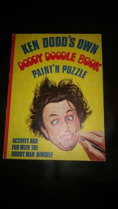 Ken Dodd's own Doddy Doodle Book   Paint n puzzle   1966 Panther Books. by bastarduk on Etsy
