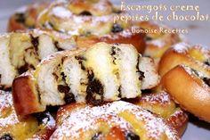 escargots creme patissiere pepites de chocolat4
