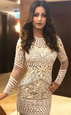 Hina Khan is one of the most popular faces on Indian television. Bikini Images, Bikini Photos, Beautiful Gorgeous, Beautiful Dresses, Heena Khan, Zara Mode, Zara Fashion, Bollywood Actress, Indian Actresses