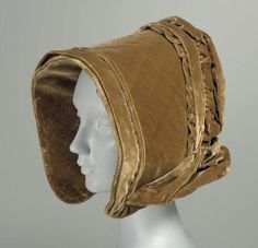 Woman's bonnet        Woman's hat        American, 1840s