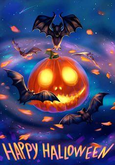Happy Halloween Pictures, Halloween Images, Holidays Halloween, Halloween Gifts, Spooky Halloween, Halloween Themes, Vintage Halloween, Halloween Pumpkins, Halloween Decorations