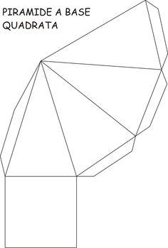 Classe quarta Diy Paper, Paper Art, Paper Crafts, Art Sub Plans, Geometric Construction, Math Boards, Solid Shapes, Cement Crafts, Paper Gift Box