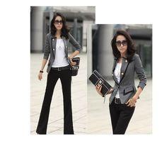 Newest Style blazer women Elegant Office Lady large size Suit Blazer jacket suit women ladies