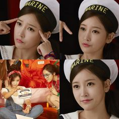 T-ara's SoYeon is a cute Marine Girl in her set of pictures ~ T-ara World ~ 티아라