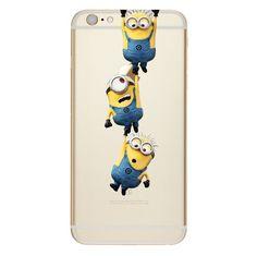 Silicon iPhone case 6 6S Samsung Galaxy S5 S6 S7 Edge Disney, minnons
