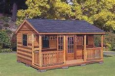 pictures of small cabin type gues house - Yahoo Search Results